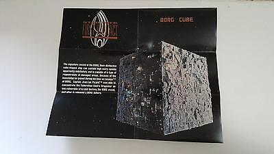 1996 Star Trek First Contact Blue print S2 Borg Cube NM/Mint condition