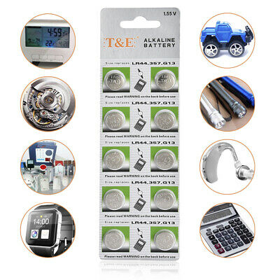 1PK/10PCS PKCELL 1.5V AG13 LR44 Battery SR44 L1154 357 A76 Button Cell Batteries