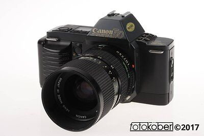 CANON T-70 mit Zoom Lens FD 35-70mm f/4,0 - SNr: 1991944