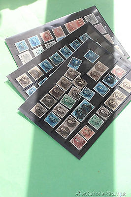 BELGIUM Classic Stamp Collection with 5x1, 3 x 2 w/ Signed 40 Cent