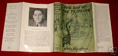 John Wyndham -  THE DAY OF THE TRIFFIDS - 1951 - Facsimile D/J Only - No Book
