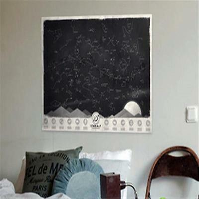 Luckies Star Map Poster Glow in Darkness Night Sky Constellations Poster  WR@