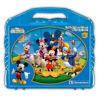 Micky Maus - Würfel Puzzle Mickey Mouse Clubhouse 24 Teile