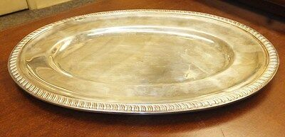 MIYATA Authentic Vintage Silver TEA TRAY / SERVING PLATE NO RESERVE Sterling
