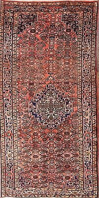 """Sale Hand Knotted Faded Color 5x9 Zanjan Persian Oriental Area Rug 9' 4"""" x 4' 7"""""""
