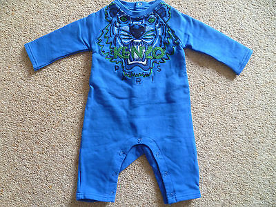 *Most Wanted* Genuine Baby Boys Designer KENZO Tiger romper babygro 3 M  59 CM