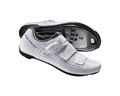 Shimano RP5 - Womens - Road SPD SL Cycling Shoes - RP500 - White