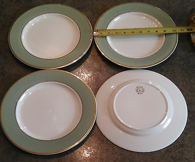 Taylor Smith Taylor - Classic Heritage Celadon Green  - Dinner Plates - Set of 8