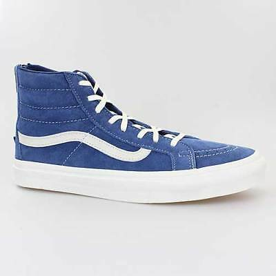 VANS DAMEN SCHUHE Sk8 High Slim Zip Scotchgard blau Sneaker