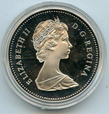Beautiful 1982 PROOF Elizabeth II Canada Regina Dollar NR360
