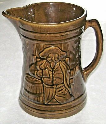 Vintage 1926 Nelson McCoy Pottery Beer Pitcher
