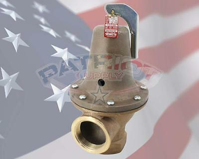 "Watts 0278030 174A-2-30, 2"", 30 Psi Relief Valve 3,815,000 Btu"