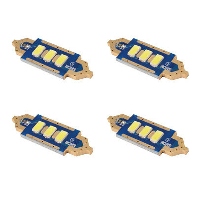 4x 3SMD 36mm 5730 LED Soffitte Canbus Auto 12V Innenraumbeleuchtung Weiß MA1118