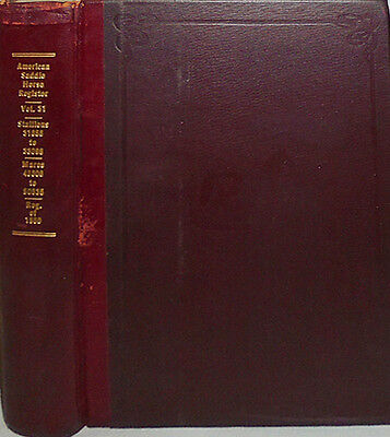 1950 -American Saddle-Horse Breeders Association- Equestrian/Agriculture Book 31