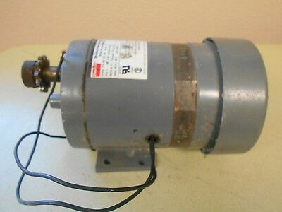 Dayton 3M126B Shaded Pole Ac Gearmotor  Amps:1.4/rpm:6 F/l/hp:1/20
