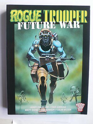Rogue Trooper.Future War.Graphic Novel.Titan/2000AD.Dave Gibbons.Finley-Day