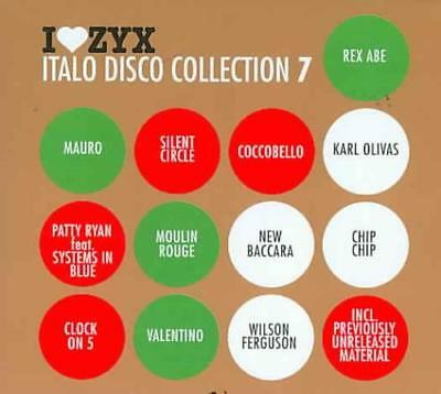 Various Artists - I Love Zyx: Italo Disco Collection 7 Used - Very Good Cd