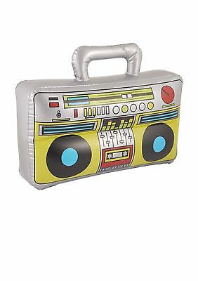 Boom Box Inflatable Blow Up Speaker Fancy Dress Accessory Stereo Stag Party Prop
