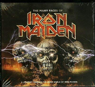 Iron Maiden The Many Faces Of Iron Maiden 3 CD new