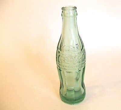 Vintage 1950s 6 oz Coca Cola Coke Bottle Hobbleskirt Huntsville, Alabama
