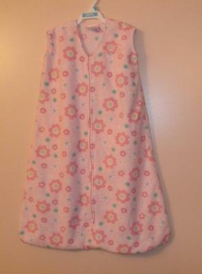 Halo Sleep Sack Wearable Blanket Medium 6-12 Months Pink Fleece