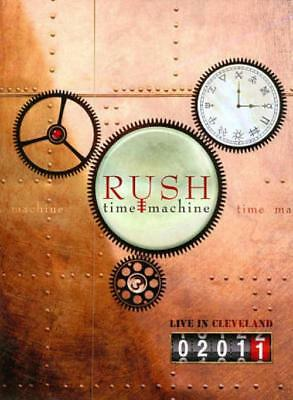 Rush: Time Machine - Live In Cleveland New Dvd