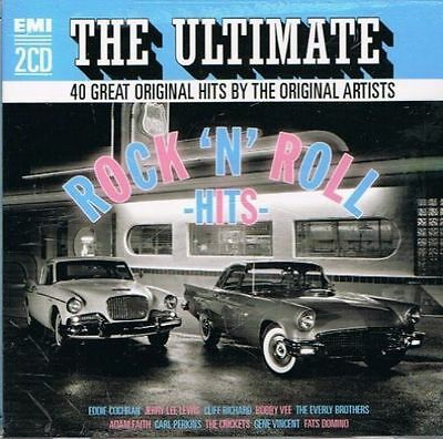 Various Artists - The Ultimate Rock 'N' Roll Hits New Cd