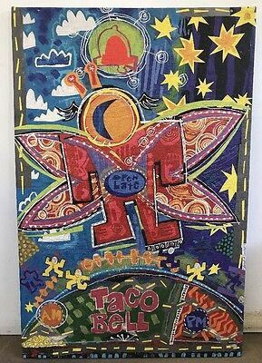 "Taco Bell Canvas Print Mark T. Smith collectible 45""x30'' Art Painting Open Late"