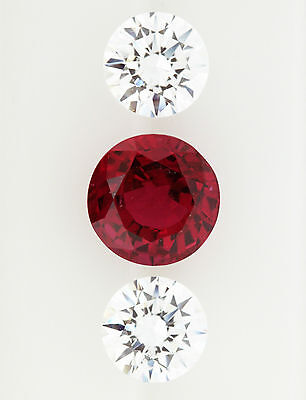 2.26ct!! NATURAL RUBY EXPERTLY FACETED IN GERMANY +GIA CERTIFICATE INCLUDED
