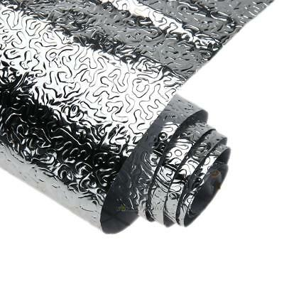 40x300CM Aluminum Foil Contact Paper Wall Sticker Kitchen Oil Proof Drawer Decor