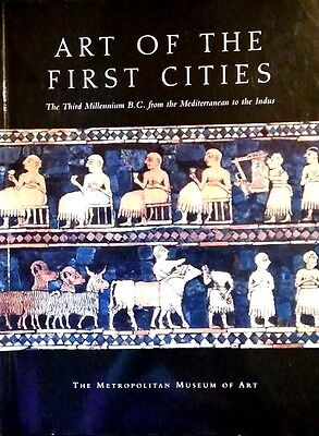 Ancient Art 1st Cities Near East Jewelry Seals Reliefs Sculpture Weapons Vessels