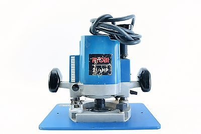 """Ryobi R500 2 1/4"""" HP Heavy Duty Router 13.3 Amp With Rockler Table Base"""