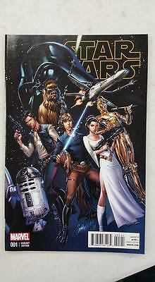 Star Wars #1 J Scott Campbell Connecting Variant  Nm  Comic Kings