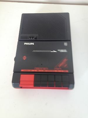 Philips D  6260/05   Cassette Tape Player Recorder portable  computer compatible