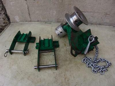 Greenlee Tugger Puller Parts Fine Condition
