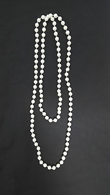Granny Pearl Necklace Fancy Dress Grandma Old Women Pearl Necklace Hen Party New