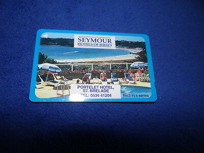Jersey Telecoms Seymour Hotels No. 3 Phonecard