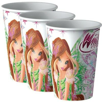 Winx Club - Butterflix - Party Kinder Geburtstag Becher Trinkbecher 8 Stk.