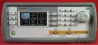 HP - Agilent - Keysight J7211A-002 Attenuation Control Unit, DC to 6 GHz,