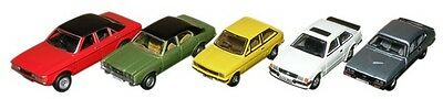 Bnib Oo Gauge Oxford 1:76 76Set41 5 Piece Ford Set Xr3I Escort Mk1 Fiesta Capri