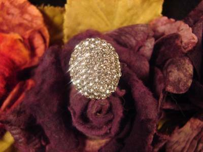 ~Wiccan Crystal Moon Ring & Lunar Power Spell Scroll~Metaphysical Vessel~