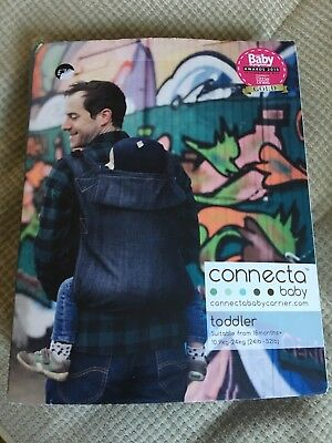 Connecta Toddler Carrier - Navy - Brand New