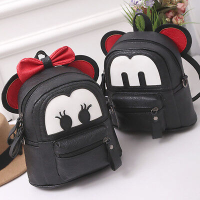 9e06bc26567 Fashion Girl Backpack Mickey Minnie Mouse Mini Bag Kid Cartoon Shoulder Bags