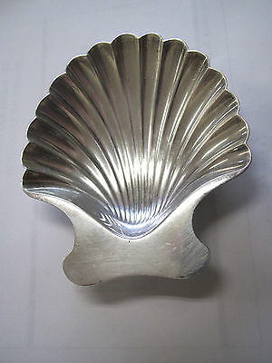 Vintage Tiffany & Co Makers Sterling Silver Seashell Soap / Candy Tray 71.6g