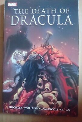 Marvel the death of dracula graphic novel. Tpb paperback