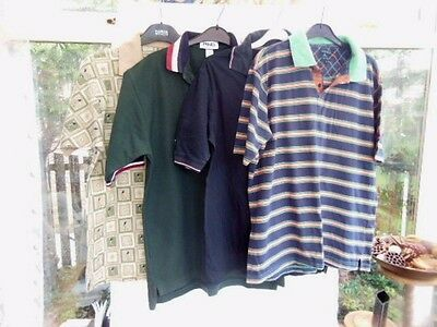 Bundle Lot Of 4 Items Mens Golf Themed Clothing Size M /ping/backswing/the Pro