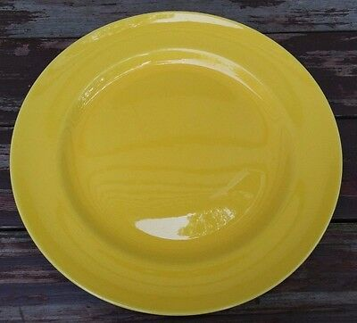 "Franciscan - El Patio - Yellow Dinner Plate - 10 1/4"" - California Pottery"