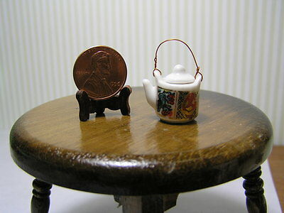 Teflon Pot wi Lid  #A4470BK Dollhouse Miniature