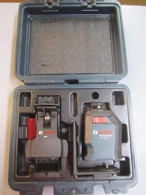 Bosch 360 Degree Horizontal Cross-Line Laser Level GLL 2-20