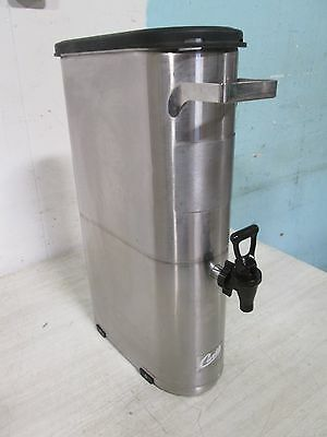 """CURTIS TCN051"" HD COMMERCIAL (NSF) SS SLIM LINE 3.5gl ICED TEA HOLDER/DISPENSER"